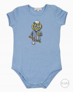 Body Gucci infantil azul