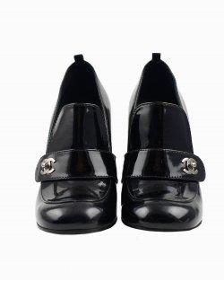 Sapato Chanel Turnlock Mocassin Loafer Pumps