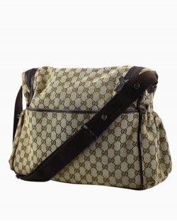 Bolsa Gucci Diaper em jacquard monograma