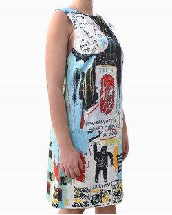 Vestido Alice+Olivia Basquiat