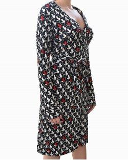 Vestido Diane Von Fustenberg Hearts