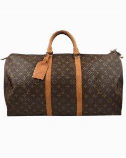 Mala Louis Vuitton Keepall Bandouliere 55