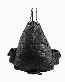 Mochila Chanel Backpack is back preta