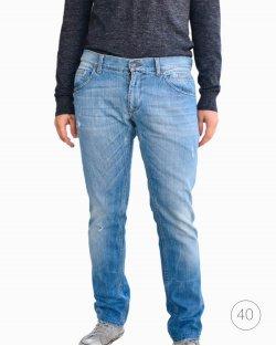 Calça Dolce & Gabbana jeans claro puído