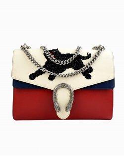 Bolsa Gucci Dionysus Calfskin Panther média