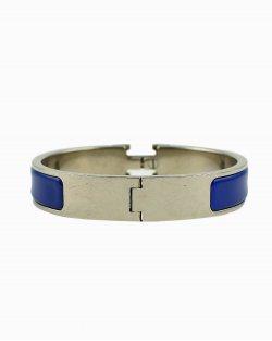 Bracelete Hermés Clic H Azul