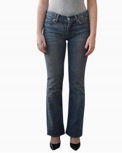 Calça 7 for All Jeans Azul Evelhecido
