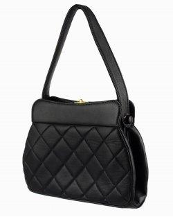Bolsa Chanel vintage Evening bag preta