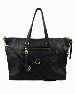 Bolsa Louis Vuitton Lumineuse em couro preto