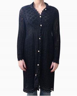 Cardigan NK tricot de seda preto