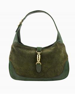 Bolsa Gucci Jackie O vintage verde