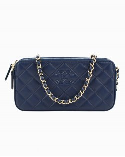 Bolsa Chanel Woc Azul Marinho