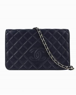 Bolsa Chanel Woc Marinho