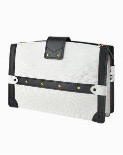 Bolsa Louis Vuitton Clutch Trunk White
