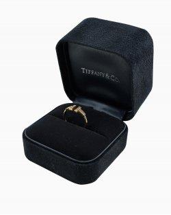 Anel Tiffany & Co. Wire com diamantes