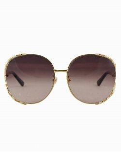 Óculos de sol Gucci marrom