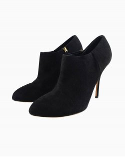 Ankleboot Gucci camurça preto