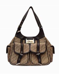 Bolsa Christian Dior Multi Pocket Marrom