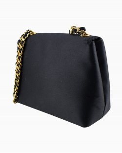 Bolsa Chanel Vintage CC Chain Flap