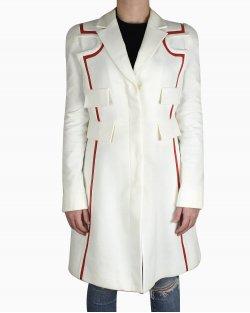 Casaco Versace Longo Off´-White