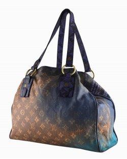 Bolsa Louis Vuitton Richard Prince Men Crazy limited edition roxa
