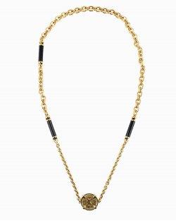 Colar Dolce & Gabbana medalha dourada