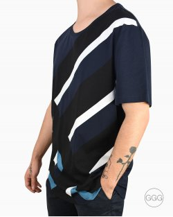 Camiseta Burberry formas azul