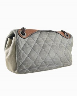 Bolsa Chanel Quilted Iridescent In the Mix Flap