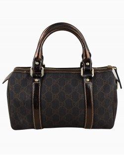 Bolsa Gucci Duchessa Boston monograma marrom