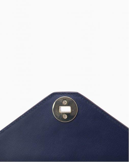 Bolsa Tory Burch tricolor azul