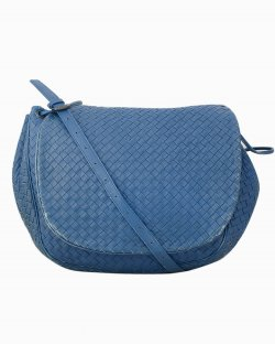 Bolsa Bottega Veneta Messenger Azul