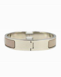 Bracelete Hermés Clic H Nude