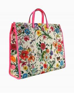 Bolsa Gucci Floral Tote