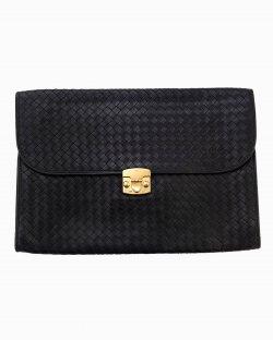 Briefcase Bottega Veneta Preta Masculina