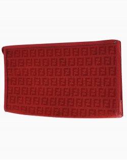 Necessaire Fendi Vintage Vermelha