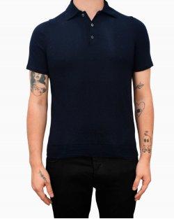 Camisa polo Prada lã azul marinho