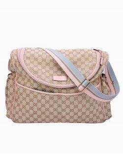 Bolsa Gucci Diaper Rosa