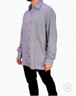 Camisa Ermenegildo Zegna Lilás