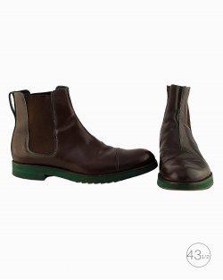 Bota Louis Vuitton Chelsea boot marrom