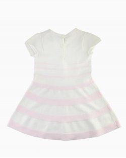 Vestido Janie and Jack branco e rosa