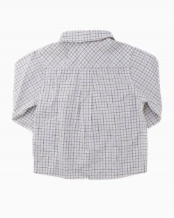 Camisa Jacadi Xadrez Infantil