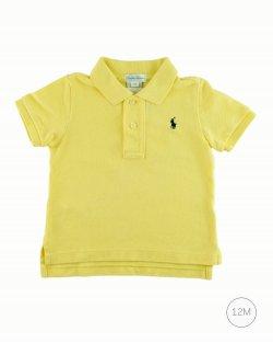 Camisa Ralph Lauren Polo Amarelo Infantil