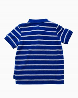 Camisa Ralph Lauren Polo Azul Infantil