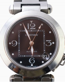 Relógio Cartier Pasha aço