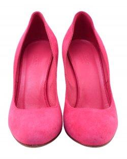 Scarpin Gucci suede rosa pink