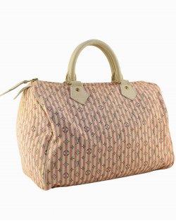 Bolsa Louis Vuitton Mini Lin Croisette Speedy 30 Rosa