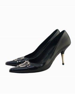 Scarpin Dior Vintage Preto