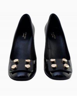 Sapato Gucci Jacquelyne Verniz Preto