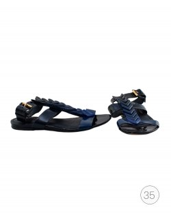 Rasteira Louis Vuitton Bright Shades azul