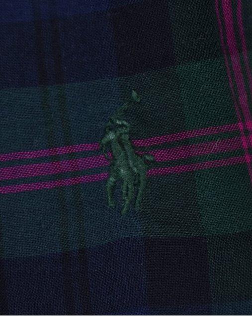 Camiseta Infantil Ralph Lauren Xadrez